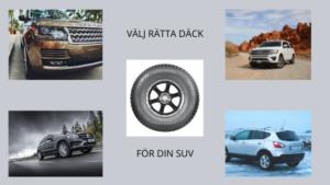SUV sommardäck